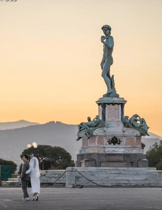 Une statue célèbre à Florence