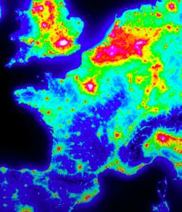 Où photographier la Voie lactée selon la pollution lumineuse ?