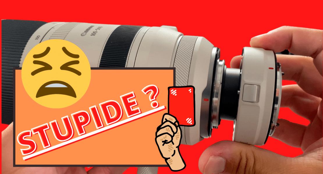 Test Canon extender RF 1.4X