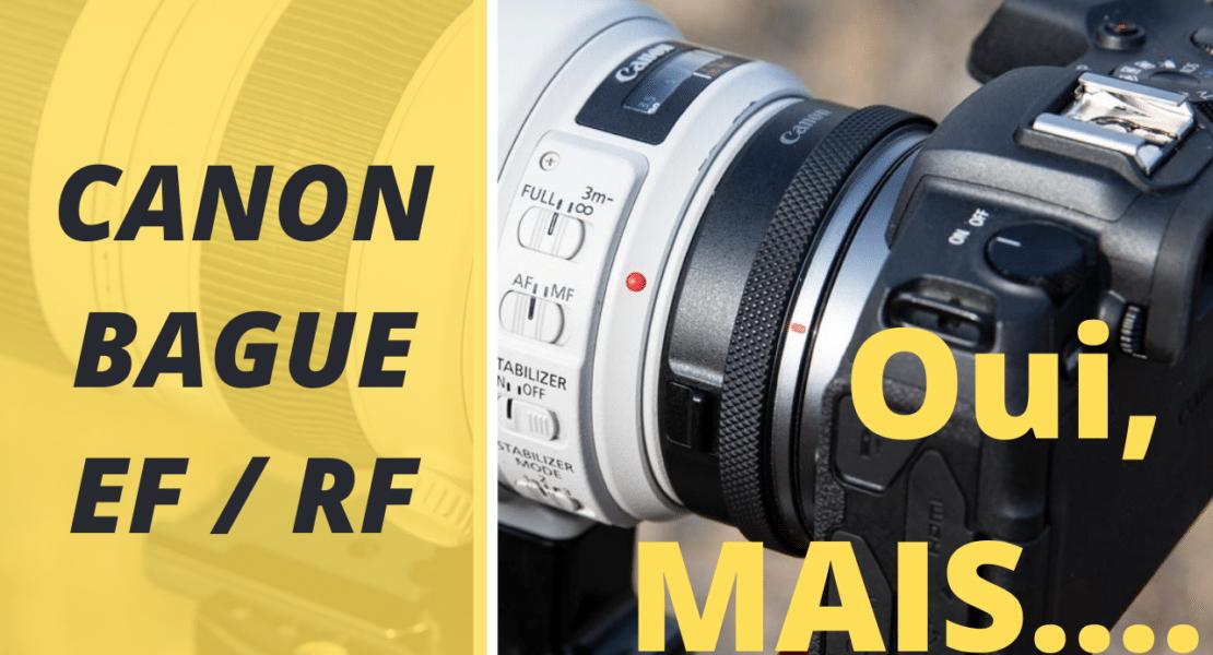 test bague Canon