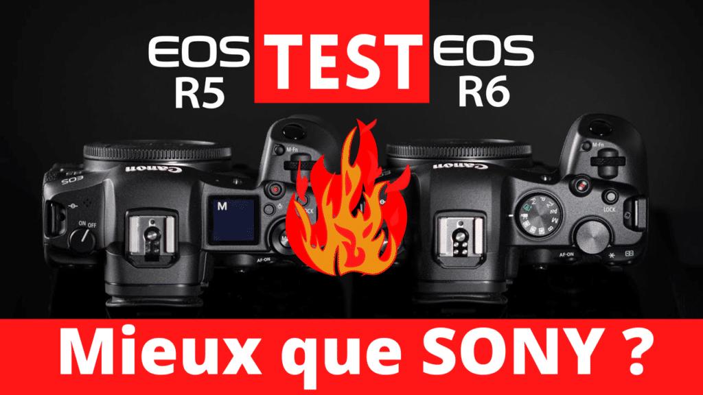 test canon R5 R6