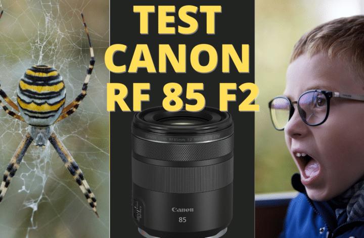 test canon RF 85mm F2