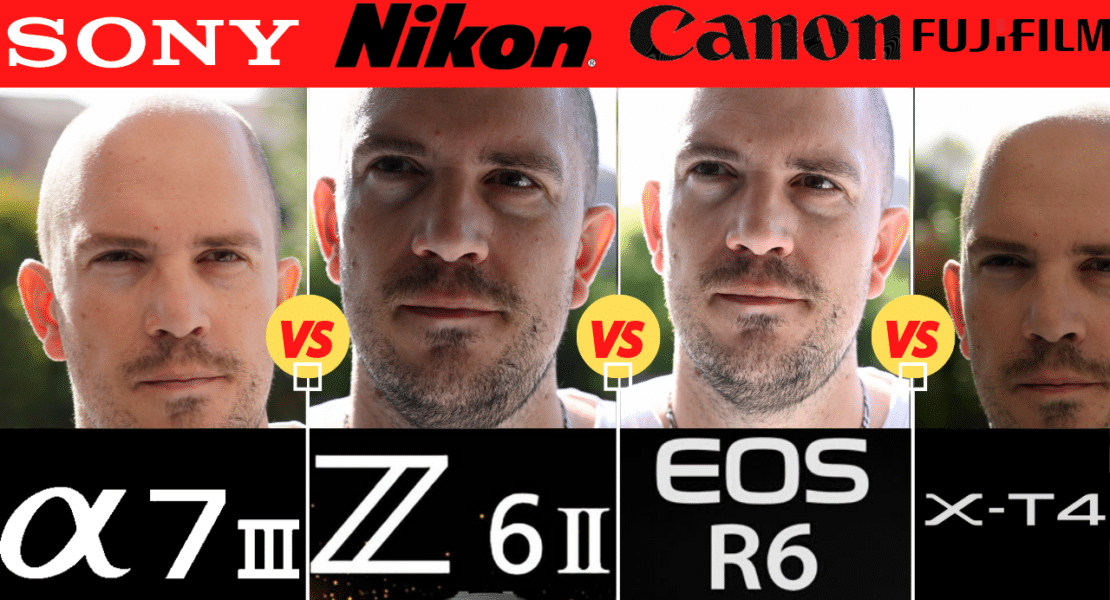 Comparatif photo Nikon Z6II Canon R6 Sony