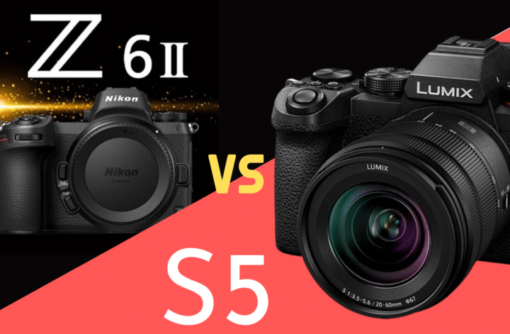 Panasonic S5 vs Nikon Z6 II