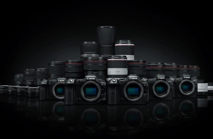 liste objectif Canon RF