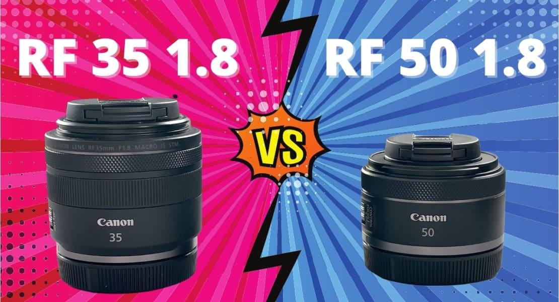 comparatif Canon 35mm 1.8 vs 50mm 1.8