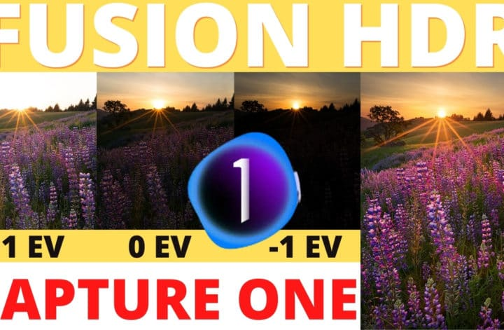 fusion HDR capture ONE