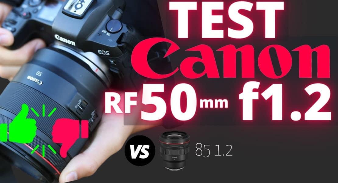 test Canon RF 50mm F1.2