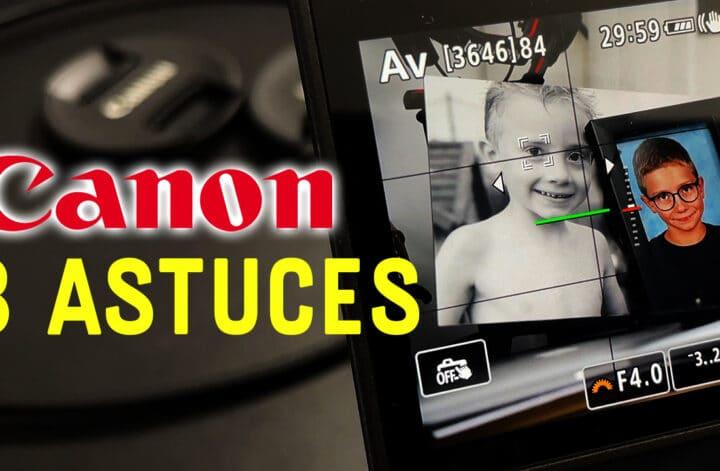 configuration autofocus canon