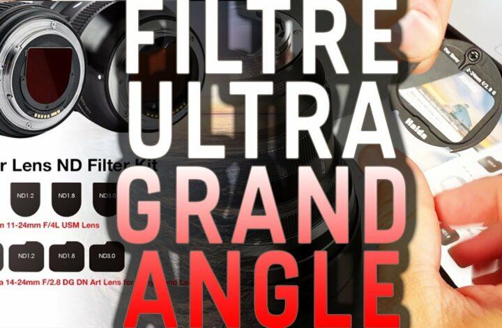 filtre ultra grand angle