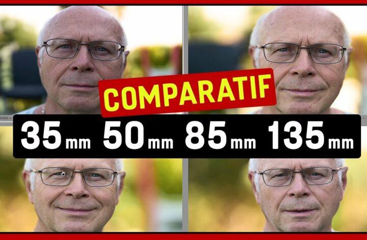 comparatif objectif portrait